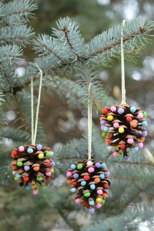 29 homemade diy christmas ornament craft ideas how to make holiday ornaments - Handmade Christmas Tree Ornaments
