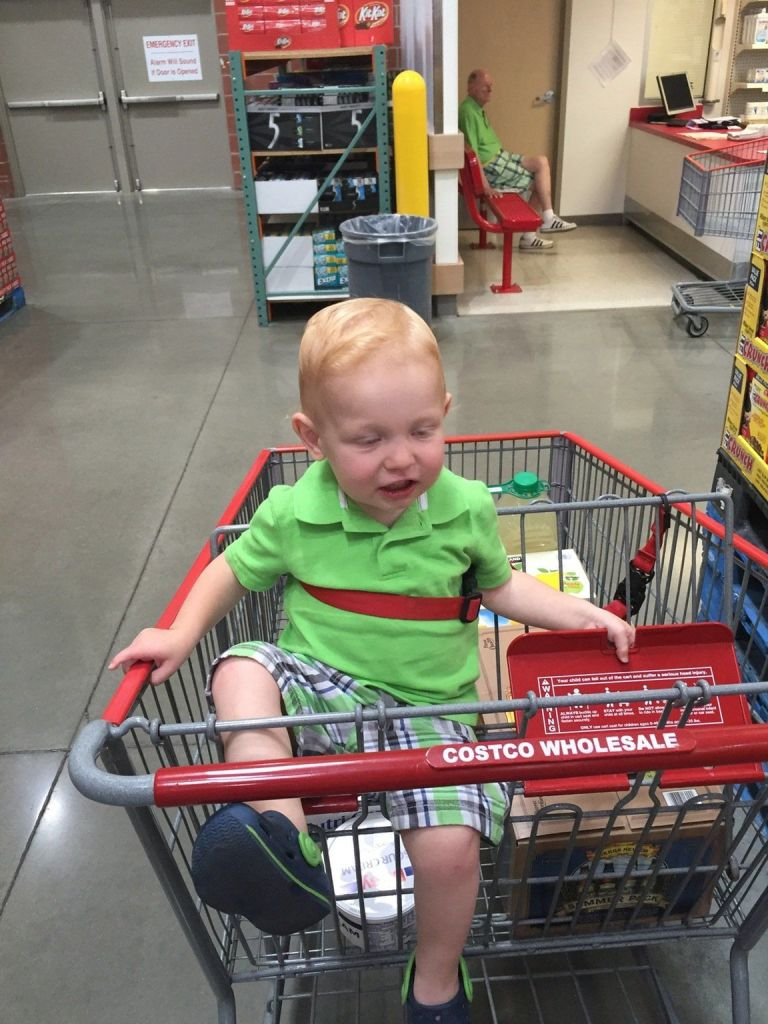 People Are Saying This Photo a Mom Took of Her Son at Costco – Costco Birth Announcements