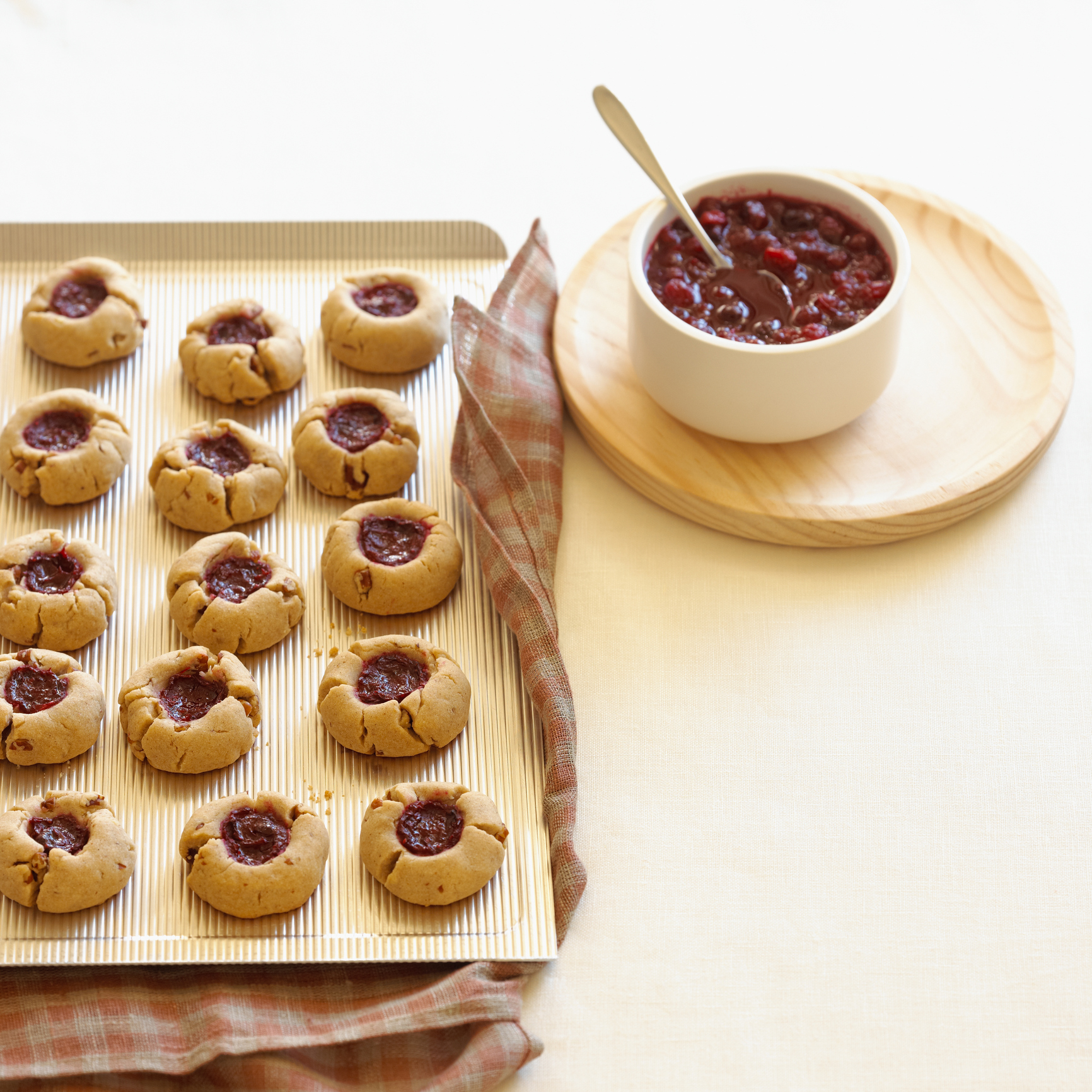 30 easy thumbprint cookie recipes how to make best for Authentic australian cuisine