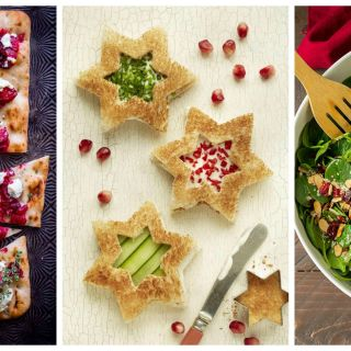 Start the holiday festivities off right with these easy-to-make savory  snacks.