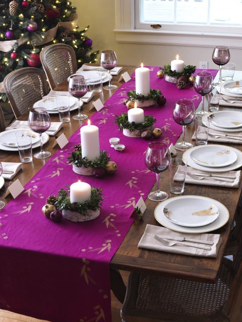 a joyful meal set the table - Table Decoration