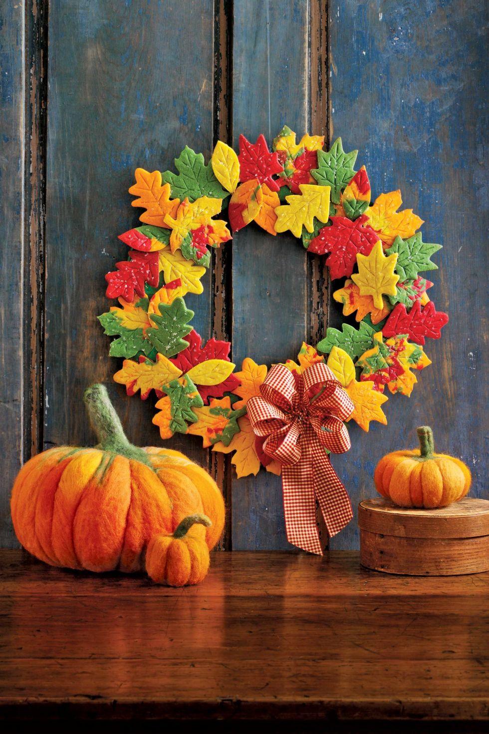 Fall Wreath Ideas Part - 40: Womanu0027s Day