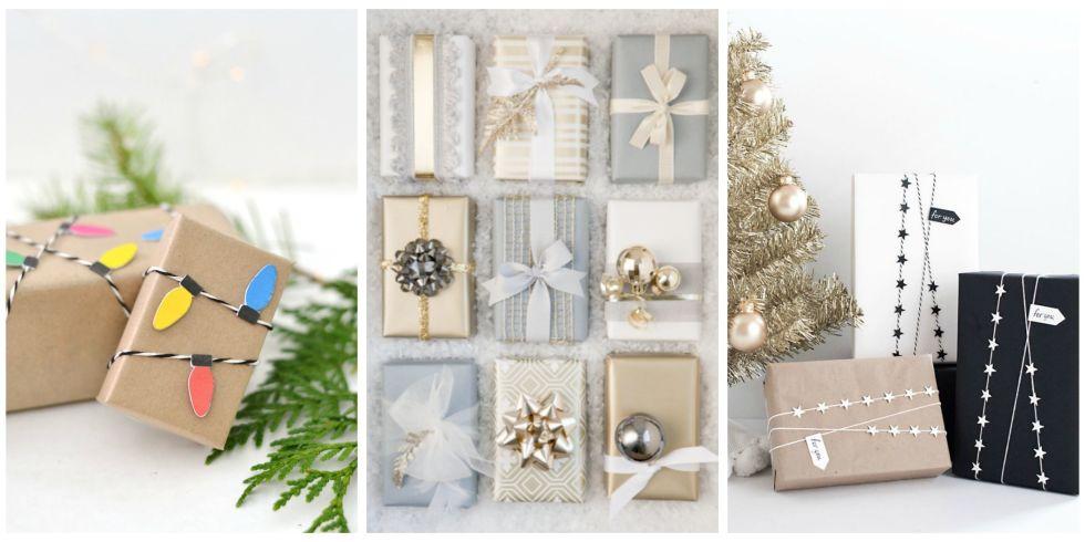 38 christmas gift wrapping ideas creative diy holiday gift wrap christmas gift wrapping ideas negle Choice Image