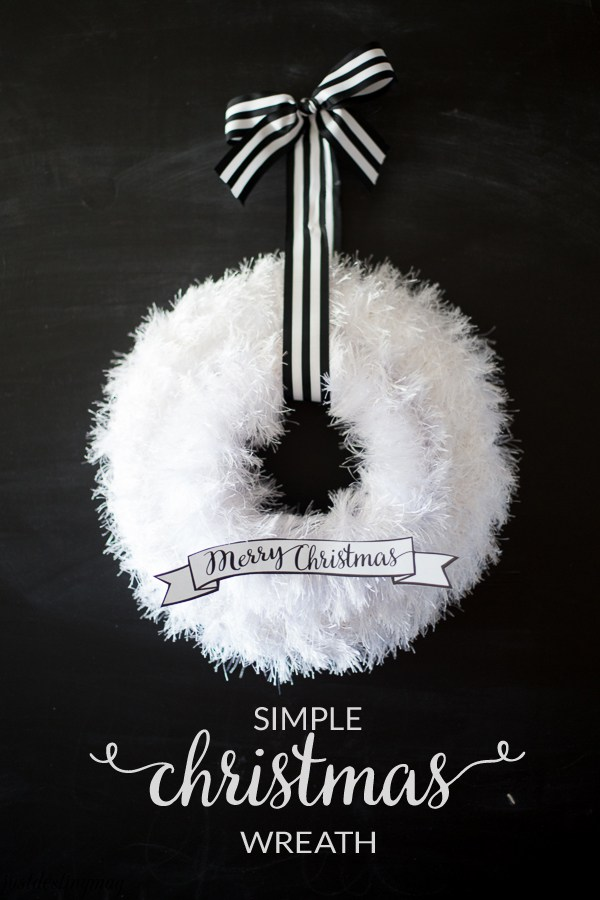 40+ DIY Christmas Wreath Ideas - How To Make a Homemade Holiday ...