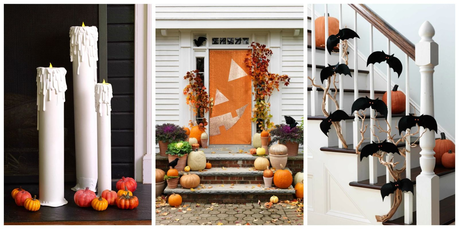 40 easy diy halloween decoration ideas homemade halloween decor projects - Homemade Halloween House Decorations