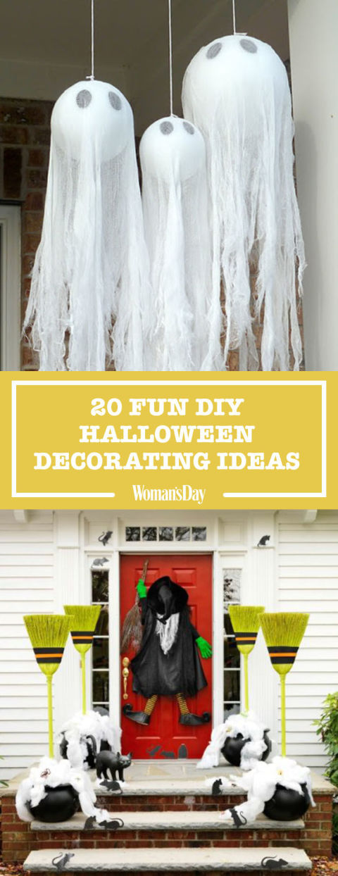 Diy Decorating Crafts 40+ easy diy halloween decoration ideas - homemade halloween decor