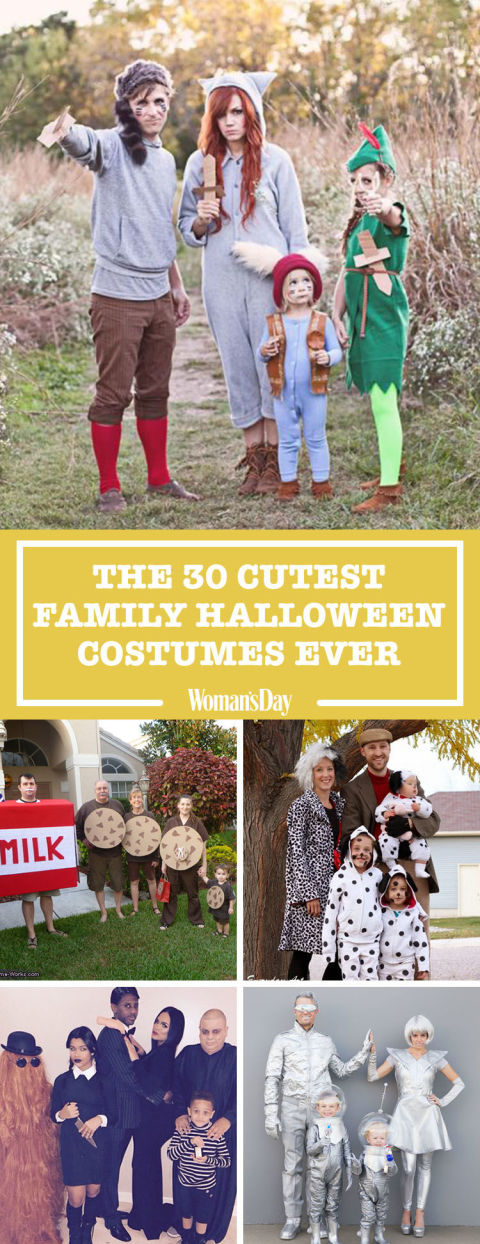 Halloween Family Costumes halloween costume ideas for the family popsugar moms Save These Cute Halloween Costumes Ideas For Later By Pinning This Image Follow Womans Day