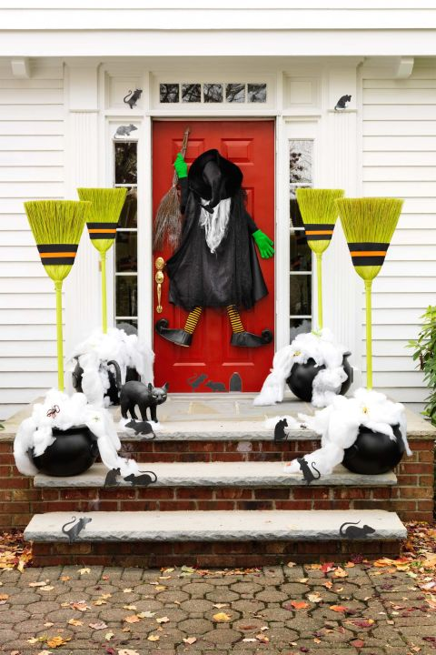 30 Scary Outdoor Halloween Decorations Best Yard And