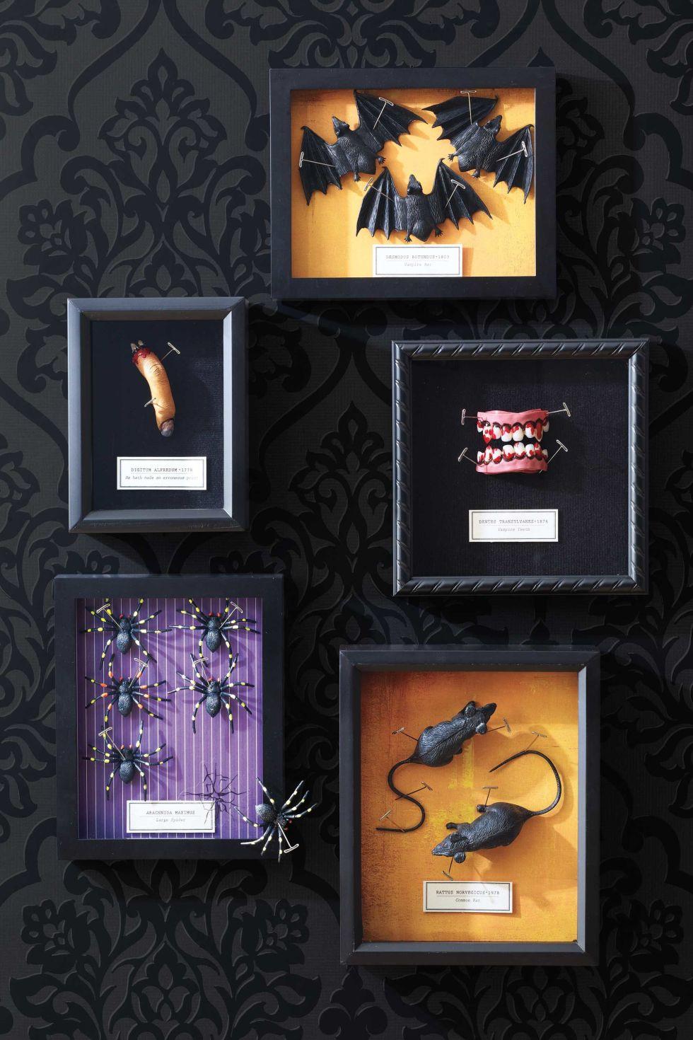 50 easy halloween decorations spooky home decor ideas for halloween - Inexpensive Halloween Decorations