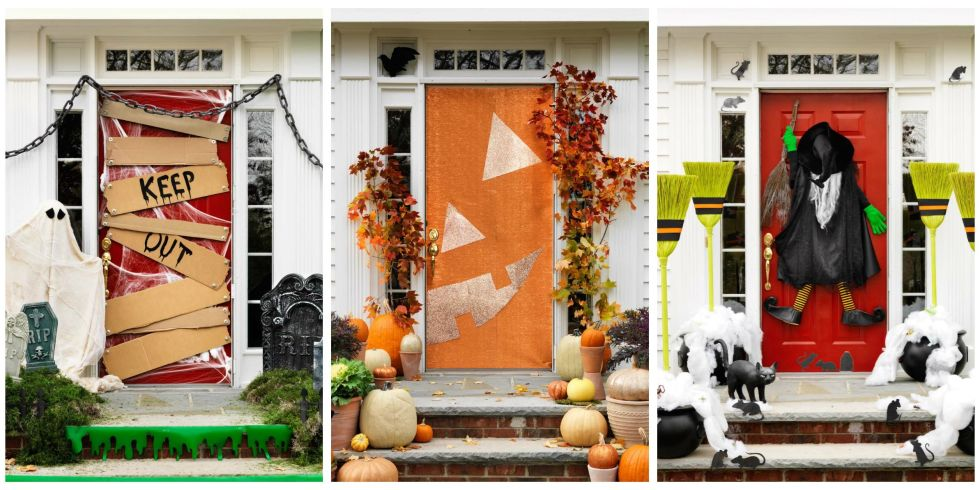 37 photos - Spooky Outdoor Halloween Decorations