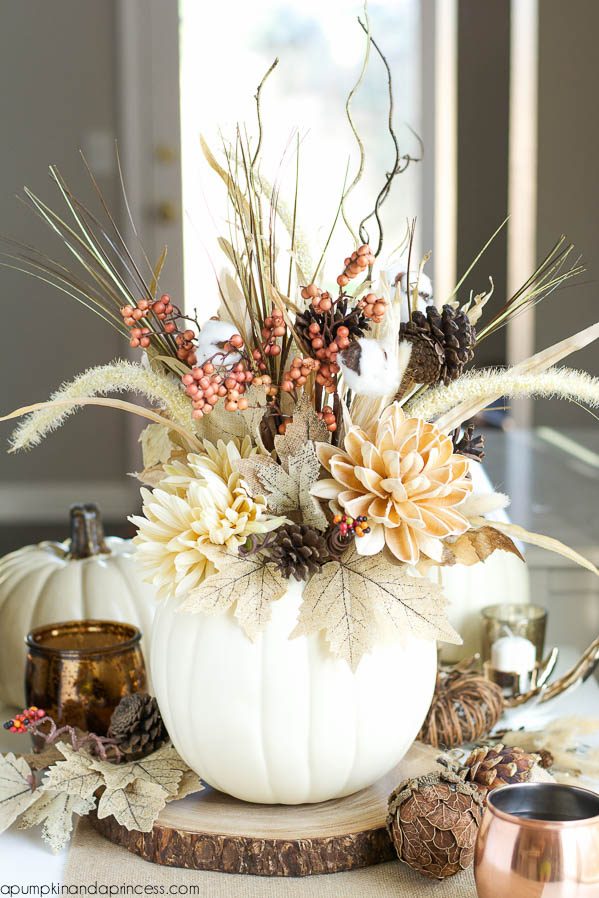 38 Fall And Thanksgiving Centerpieces   DIY Ideas For Fall Table Decorations Part 50