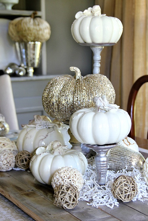 38 Fall And Thanksgiving Centerpieces   DIY Ideas For Fall Table Decorations Part 86