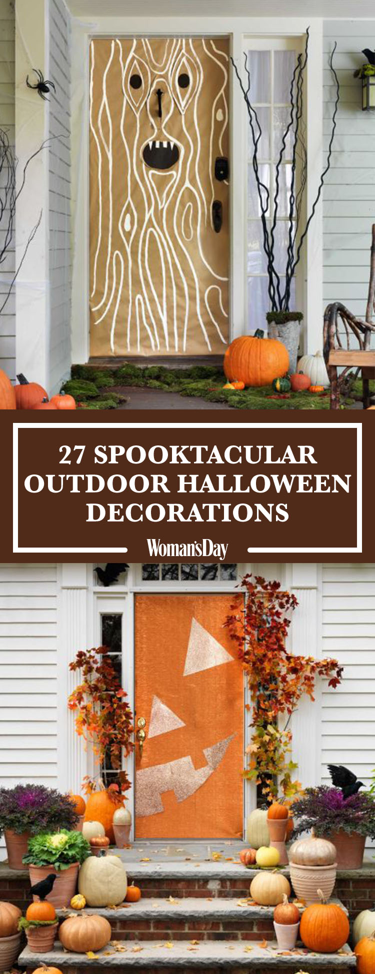 30 scary outdoor halloween decorations best yard and for Pinterest halloween outdoor decorations