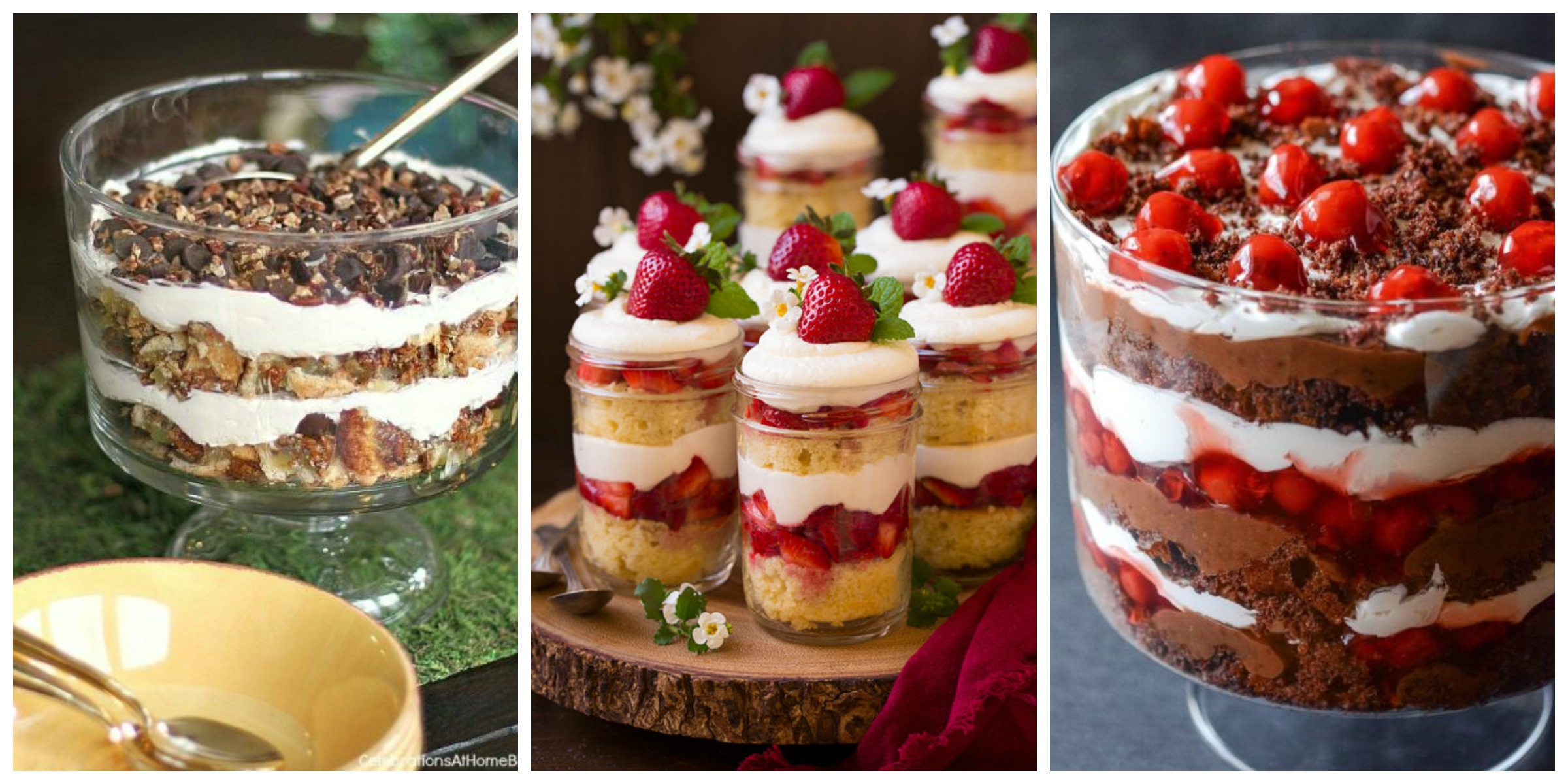 15 easy trifle recipes how to make a christmas trifle for Quick and easy trifle dessert recipes
