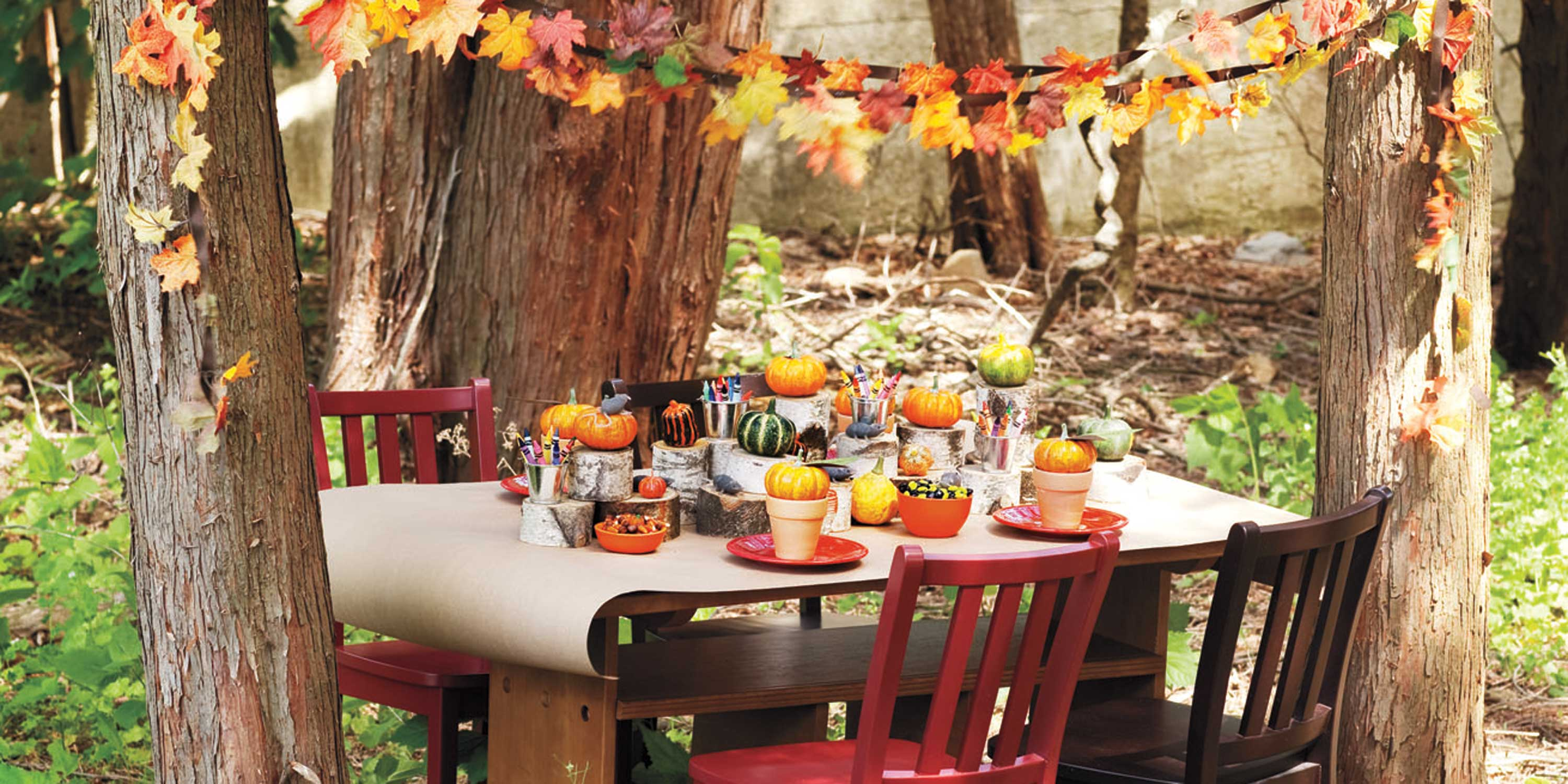 13 fall harvest party ideas for kids autumn party food Fall decorating ideas for dinner party