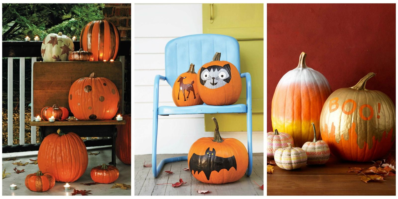 35 Halloween Pumpkin Painting Ideas No Carve Pumpkin