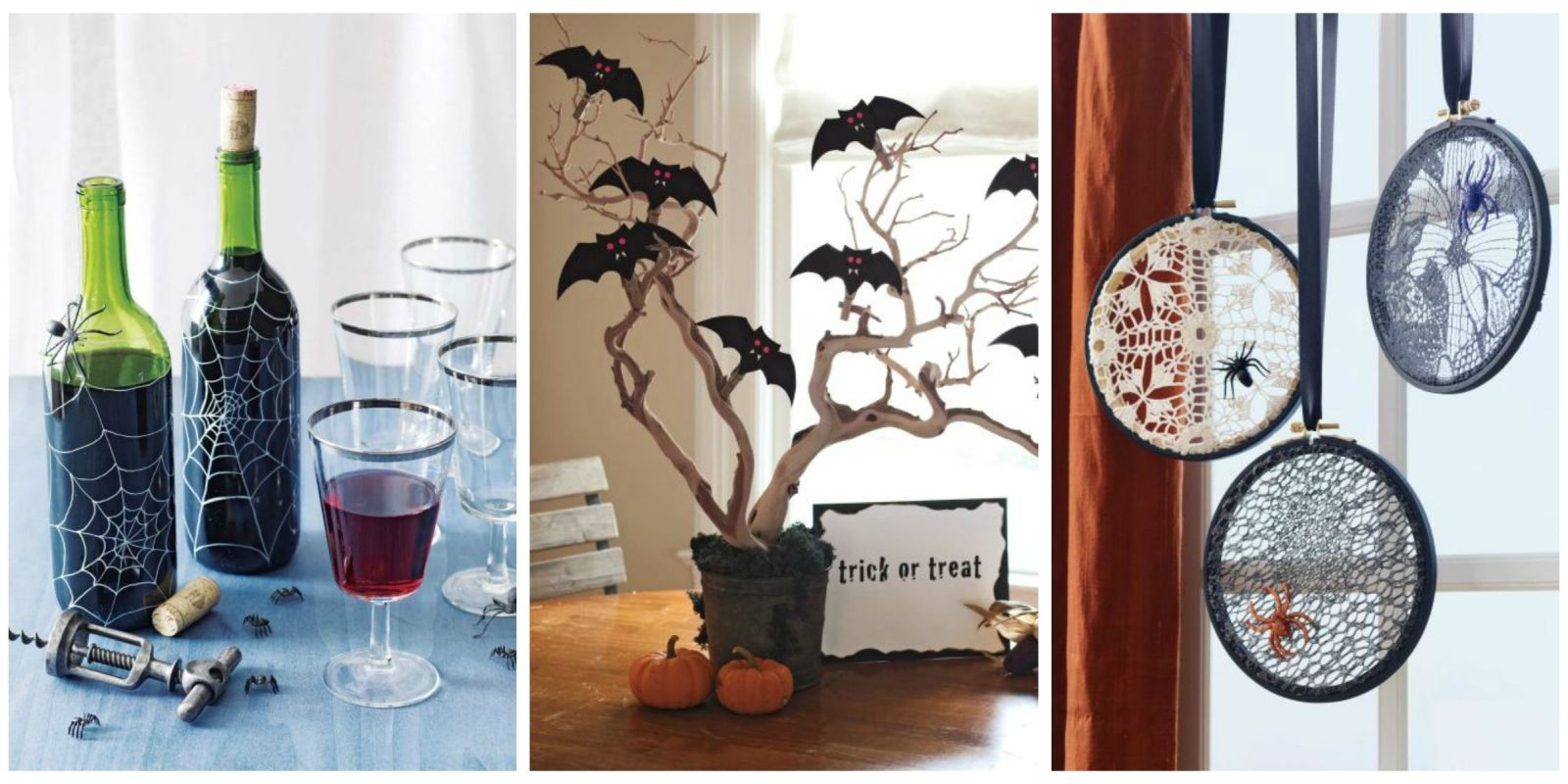 44 easy halloween crafts fun diy and craft ideas for for Easy decorations to make for halloween