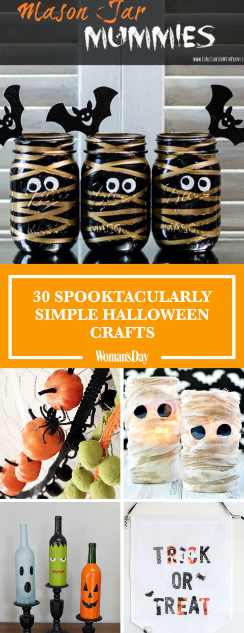 pin these ideas - Halloween Simple Crafts