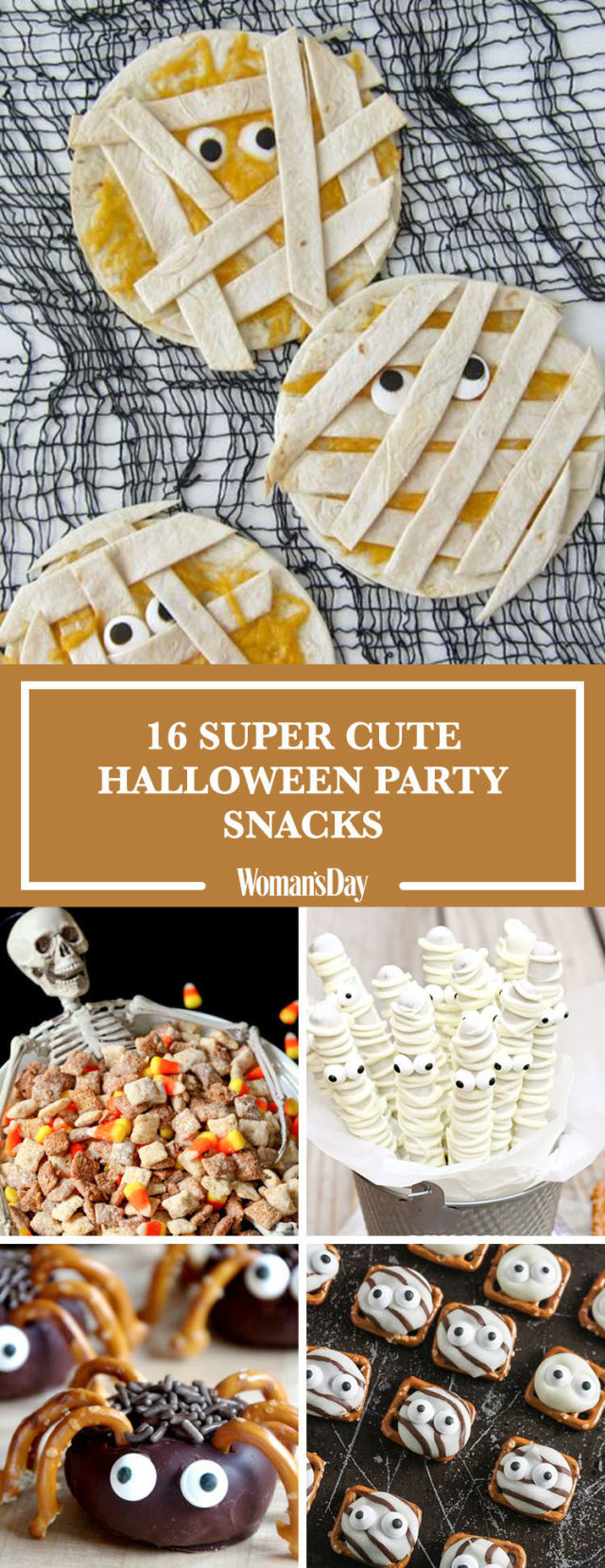 24 Easy Halloween Party Snacks — Ideas and Recipes for Halloween ...