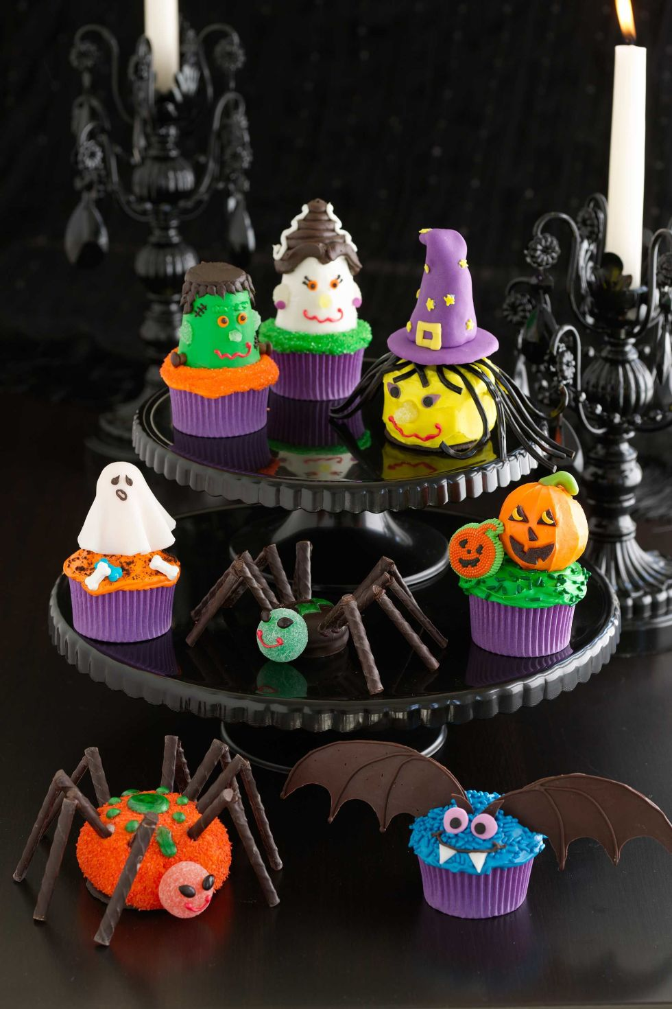 35 halloween cupcake ideas recipes for cute and scary halloween desserts