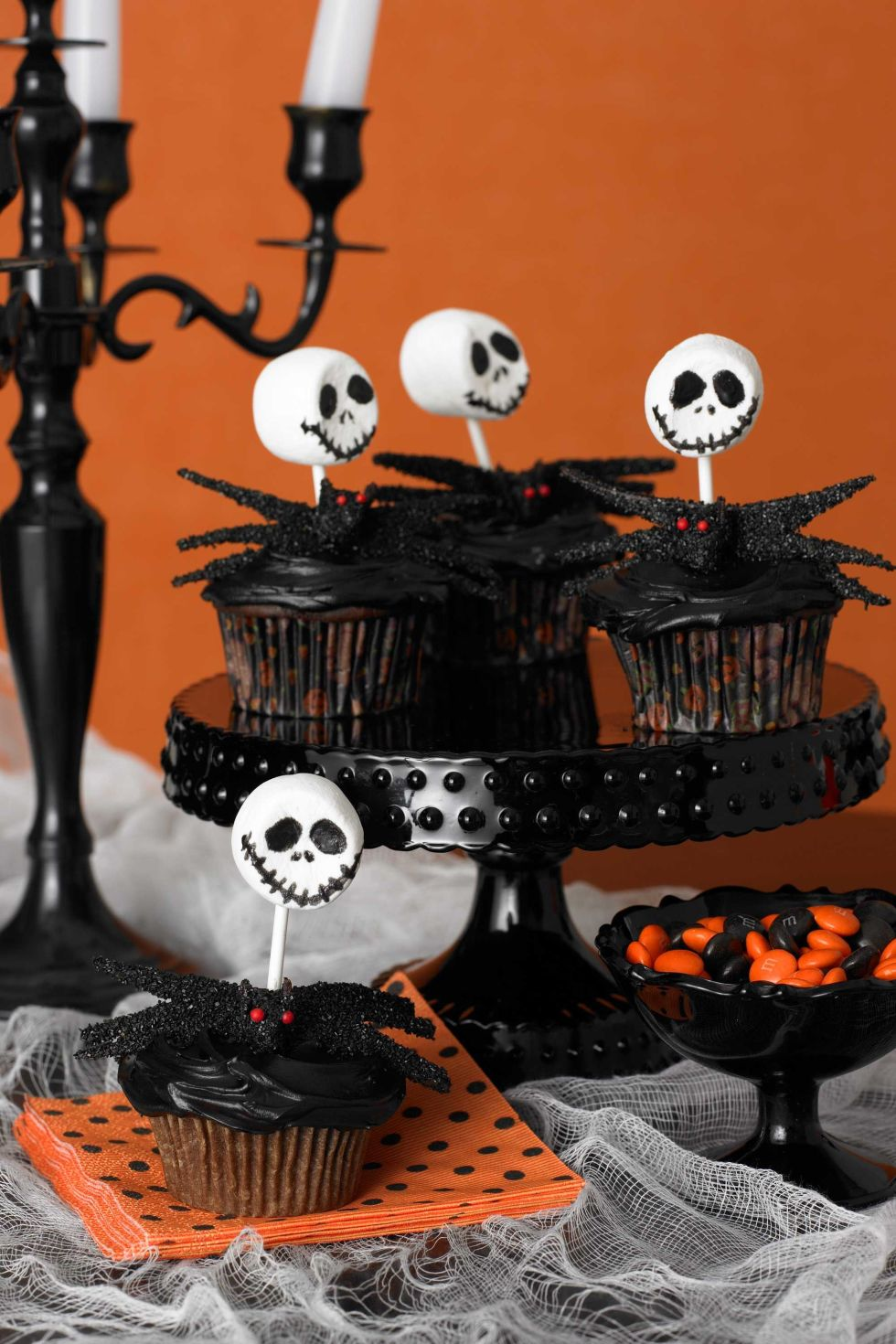 35 halloween cupcake ideas recipes for cute and scary halloween desserts - Halloween Decorations Cupcakes