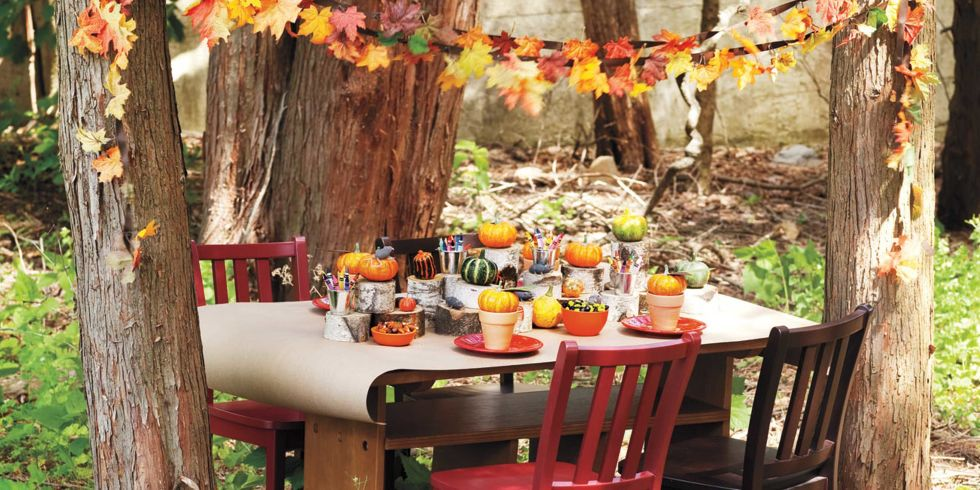 13 Fall Harvest Party Ideas for Kids - Autumn Party Food and Decor