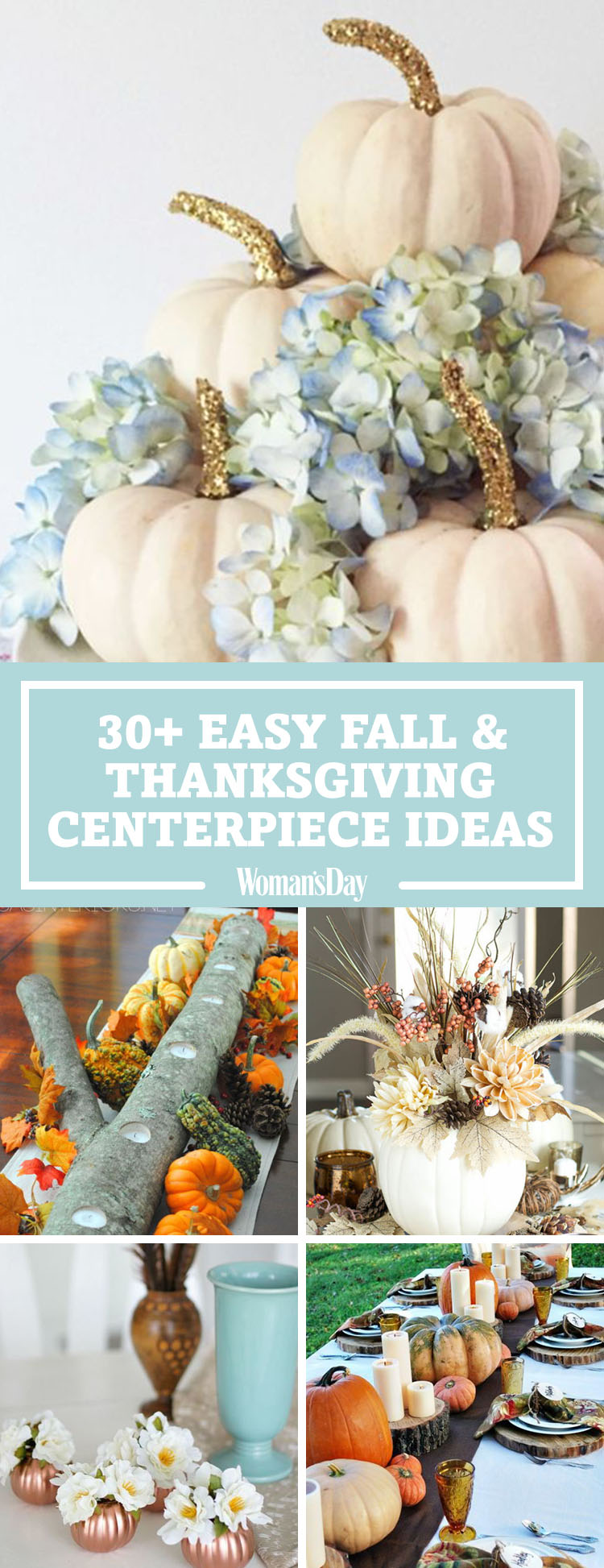 Simple Fall Wreath: 40 Fall And Thanksgiving Centerpieces