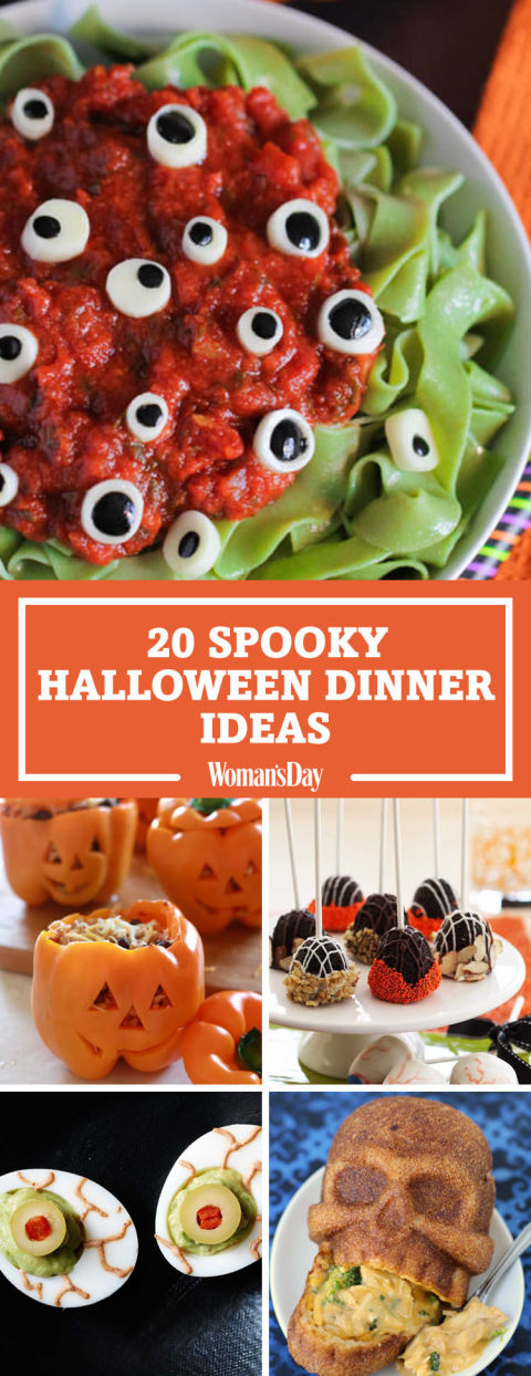 pin these ideas - Spooky Food For Halloween