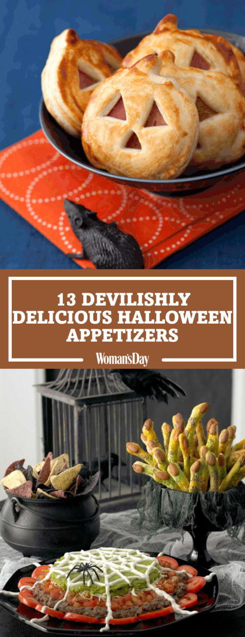 pin this image - Halloween Savory Recipes