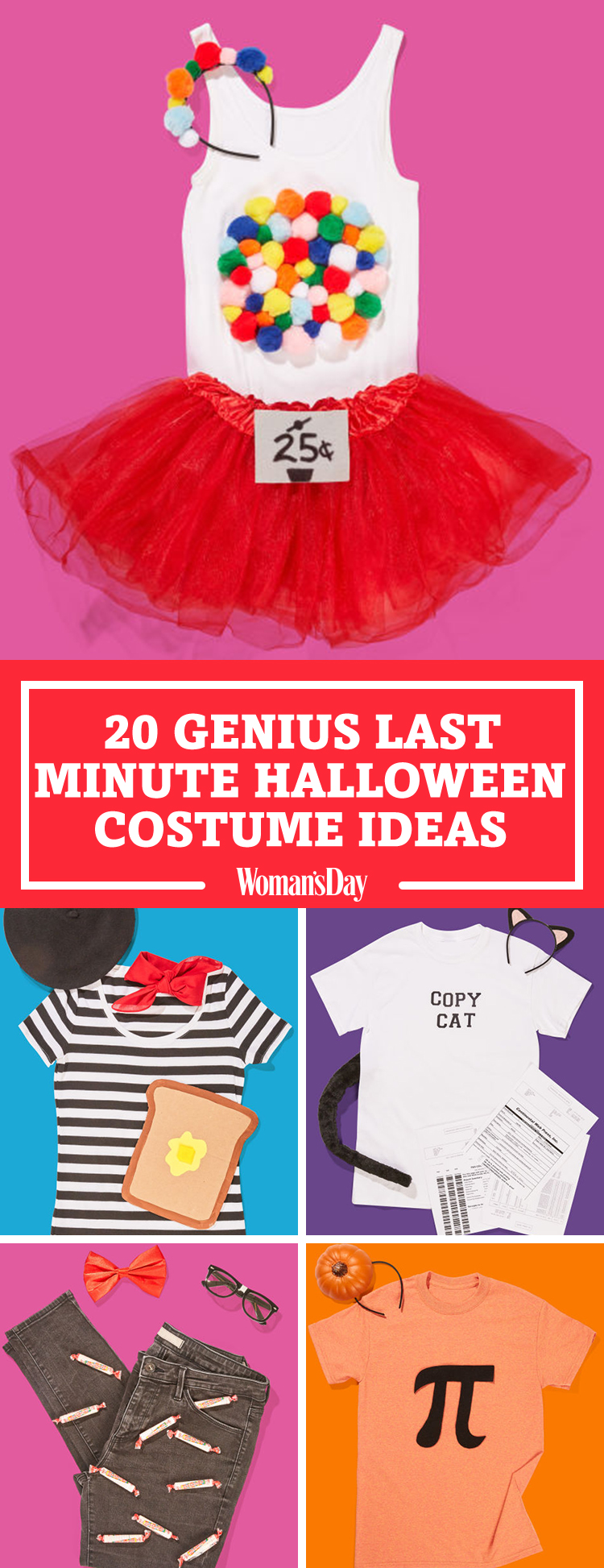 30 last minute halloween costume ideas 2017 clever. Black Bedroom Furniture Sets. Home Design Ideas