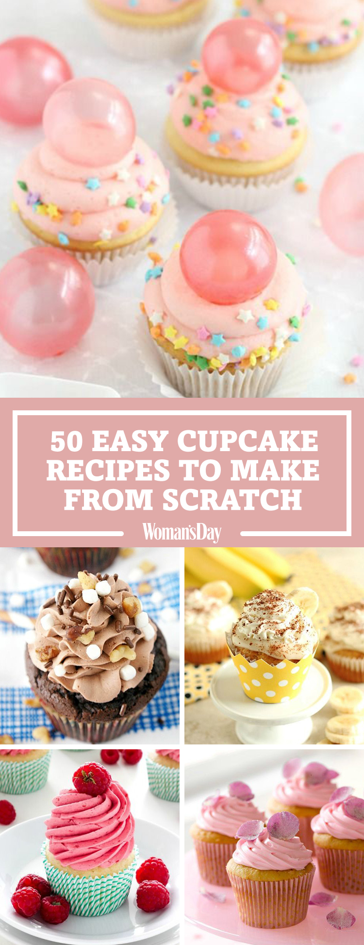 Scratch cupcake recipes easy