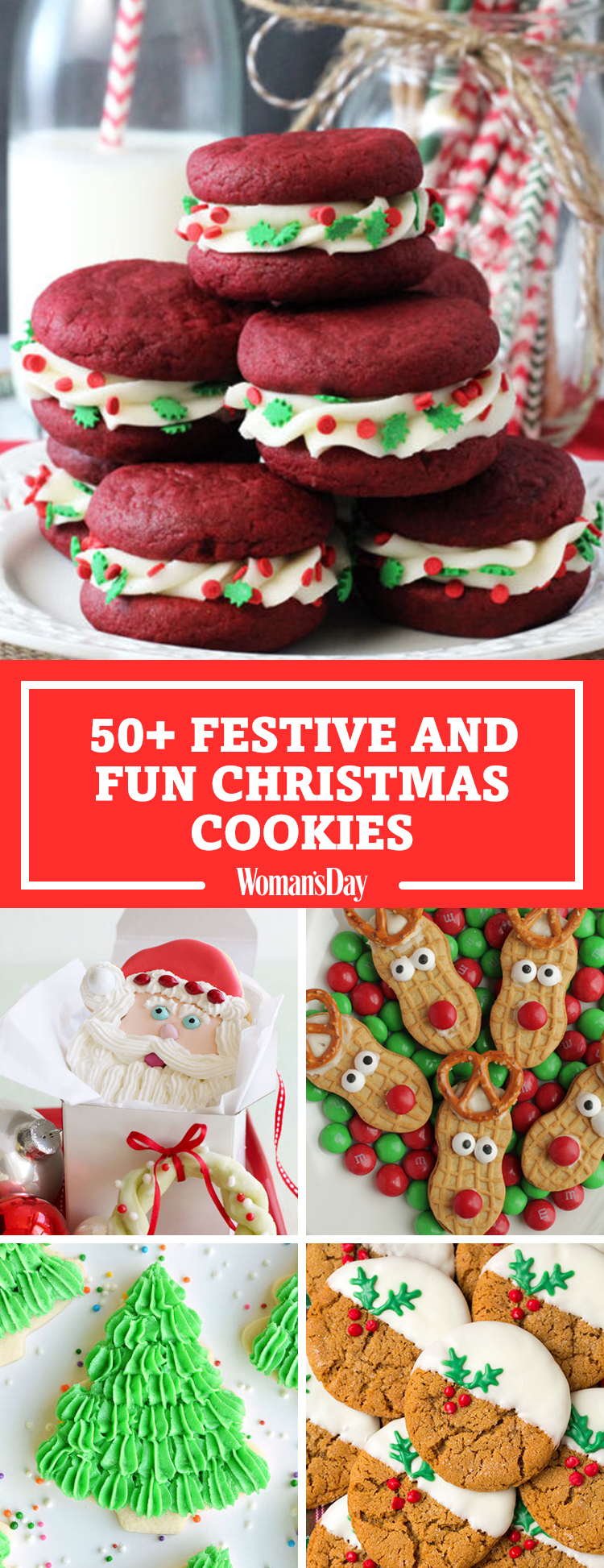 59 Easy Christmas Cookies - Best Recipes for Holiday ...