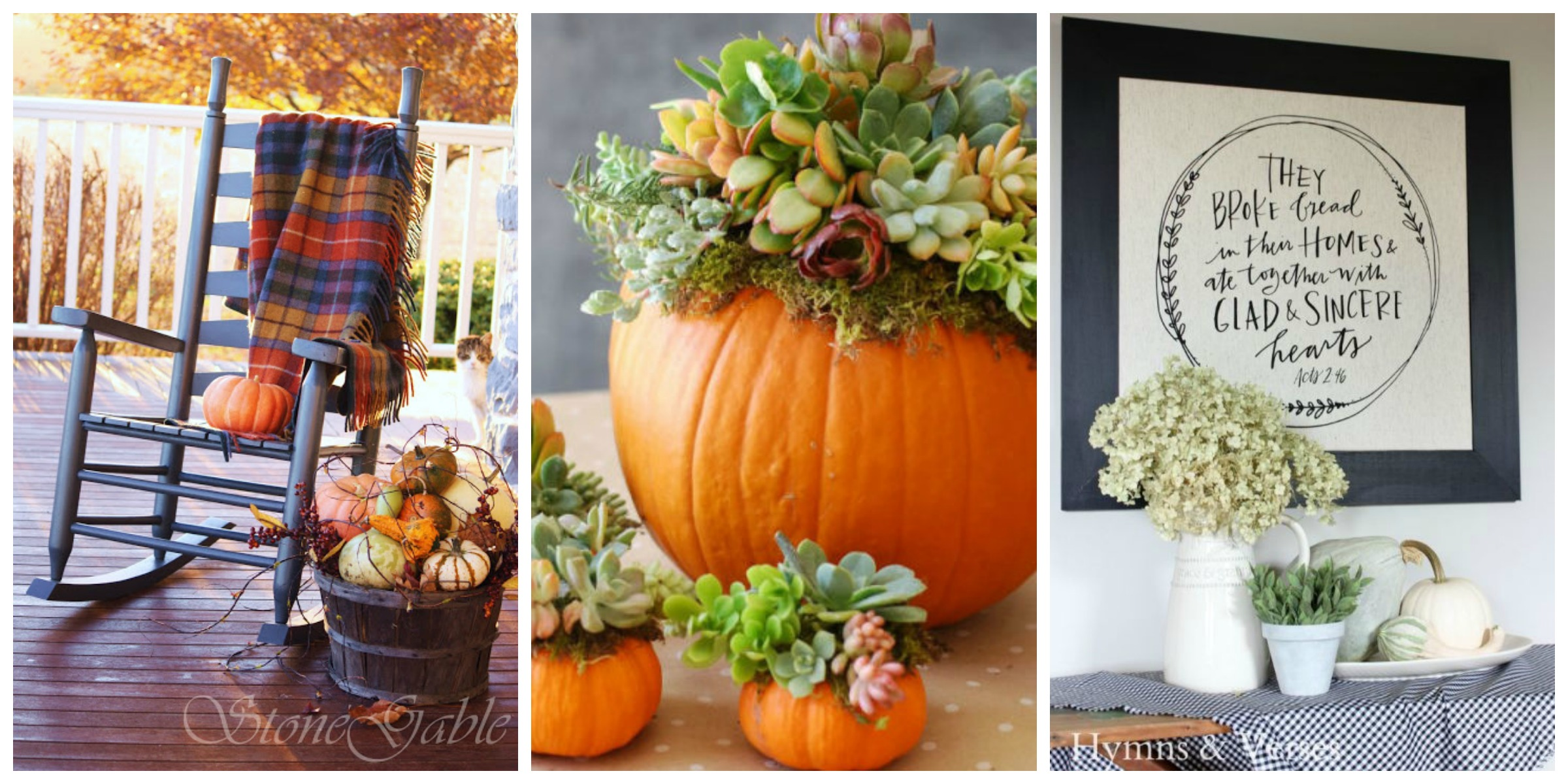 12 Easy Fall Decorating Ideas