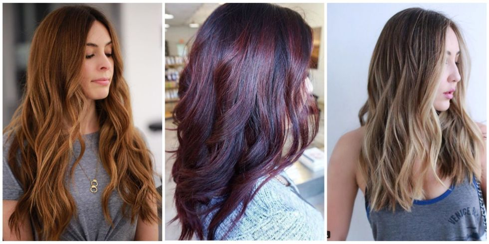 12 fall hair colors 2017 best hair dyes for autumn these gorgeous red brown and blonde shades will help you shake up your style this autumn urmus Image collections