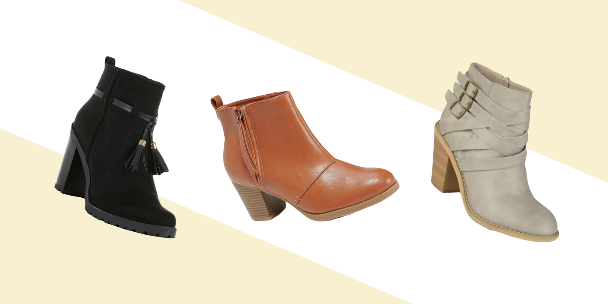 Show your fearless side in a pair of combat boots, or dress to impress in heeled pointed toe booties. With over-the-knee boots to platform booties, we have what you need—even on a budget. Latest Trends, Styles & Promotions.