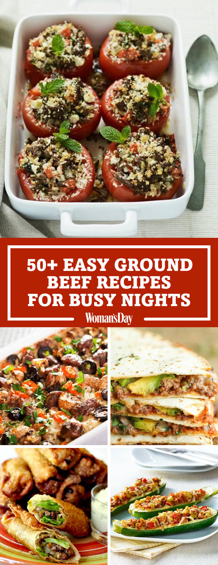 55+ Easy Ground Beef Recipes
