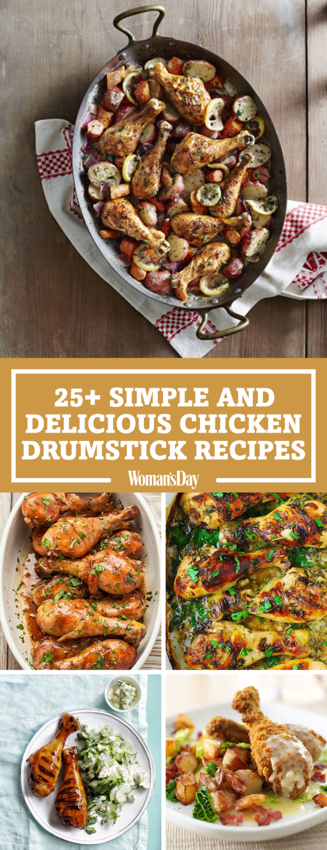Easy and fast chicken drumstick recipes