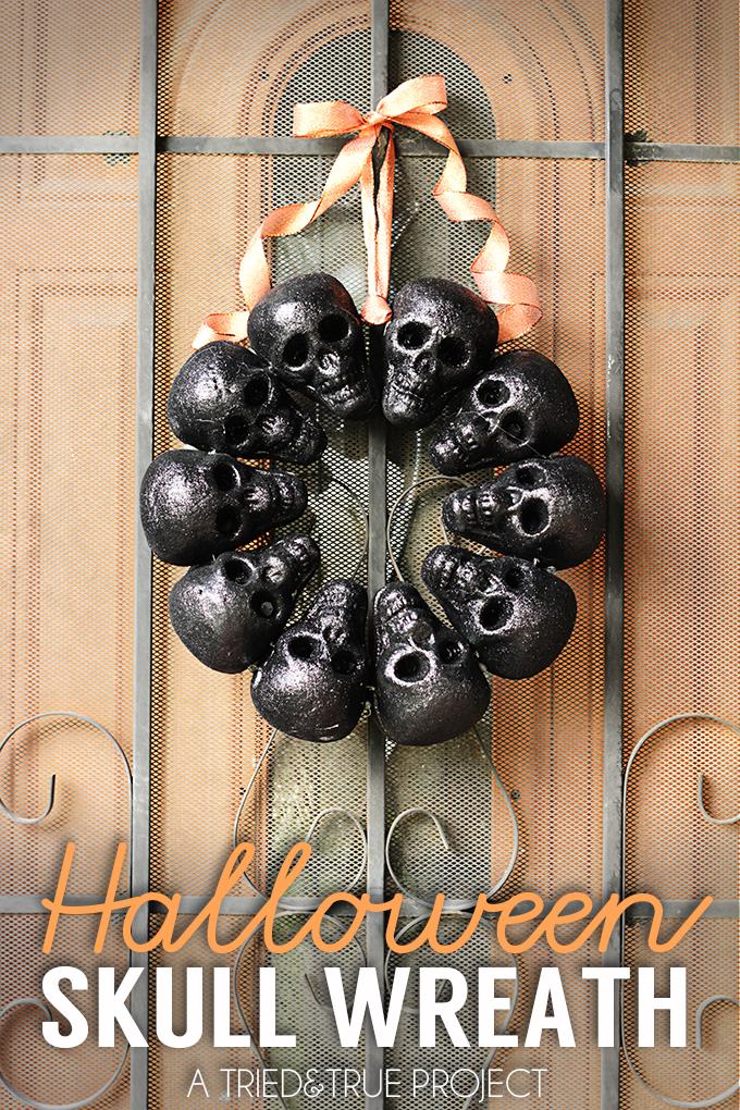 12 easy dollar store halloween decorations dollar store halloween - Halloween Skull Decorations