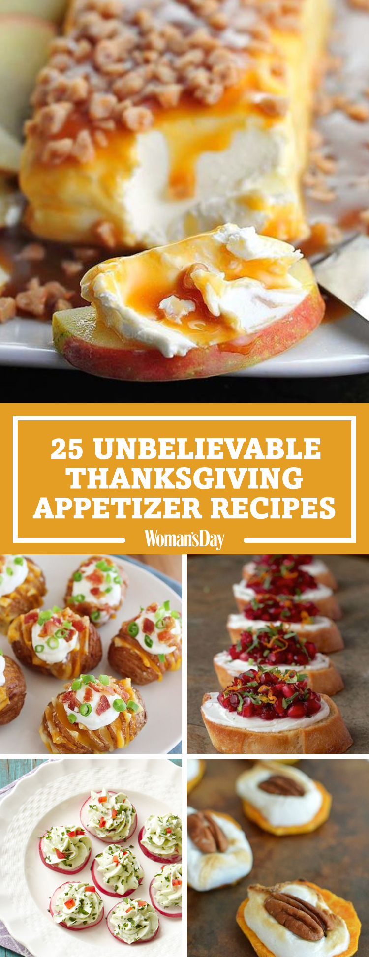 34 Easy Thanksgiving Appetizers