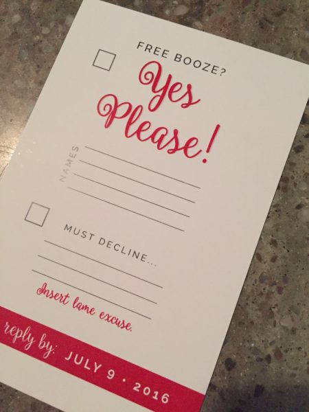 wedding rsvp card ideas