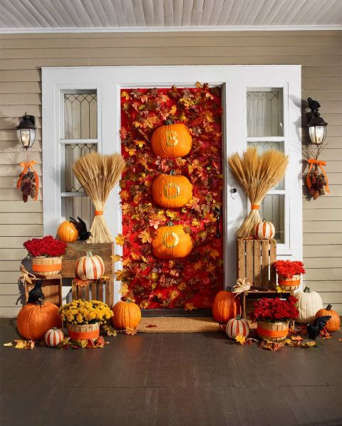 Fall Door Decor: Top 15 Halloween Door Decorations