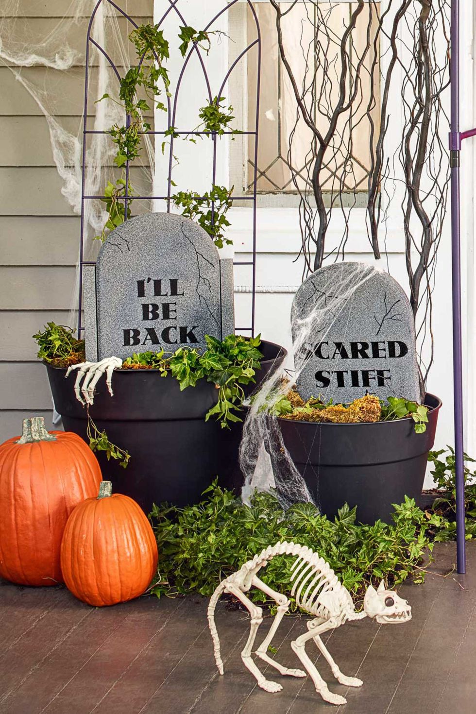 40 easy diy halloween decoration ideas homemade halloween decor projects - Diy Halloween