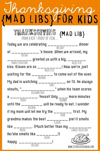 17 Diy Thanksgiving Games For Kids Fun Thanksgiving
