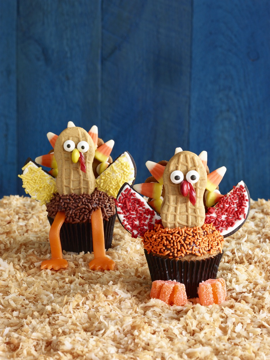 Thanksgiving cupcake decorations - 23 Thanksgiving Cupcakes Recipes Ideas For Thanksgiving Cupcake Decorations