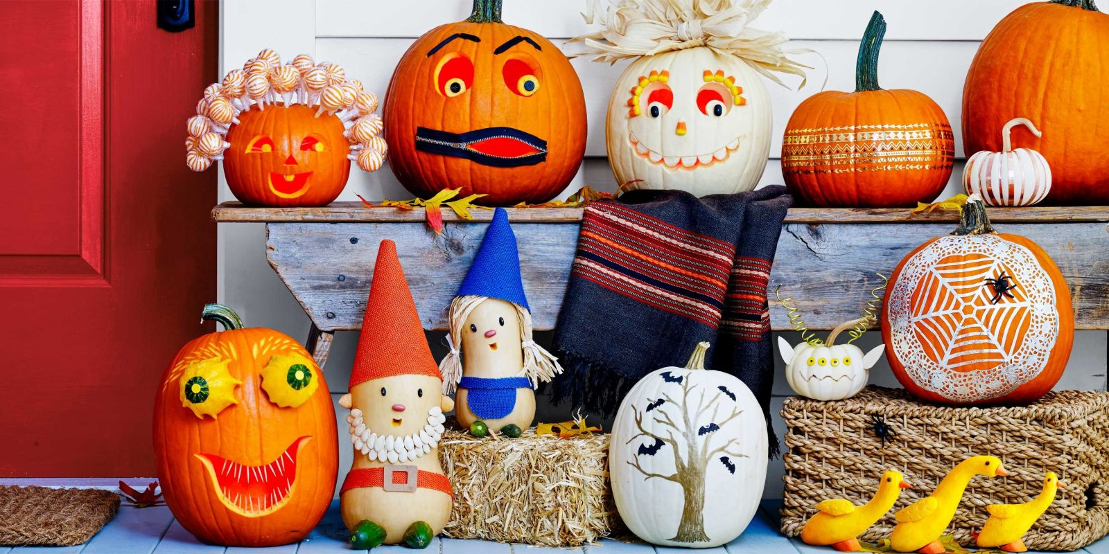 65 best pumpkin carving ideas halloween 2017 creative for Different pumpkin designs