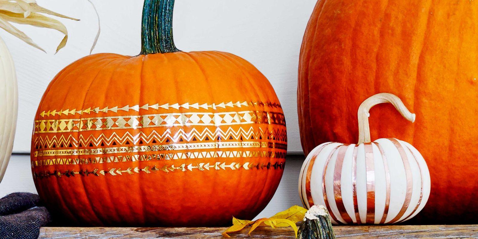 Best no carve pumpkin decorating ideas fun designs
