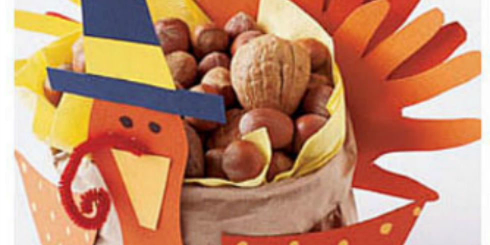 Wonderful Fun Thanksgiving Crafts For Kids Part - 11: 29 Fun Thanksgiving Crafts For Kids - Easy DIY Ideas To Make For  Thanksgiving - WomansDay.com