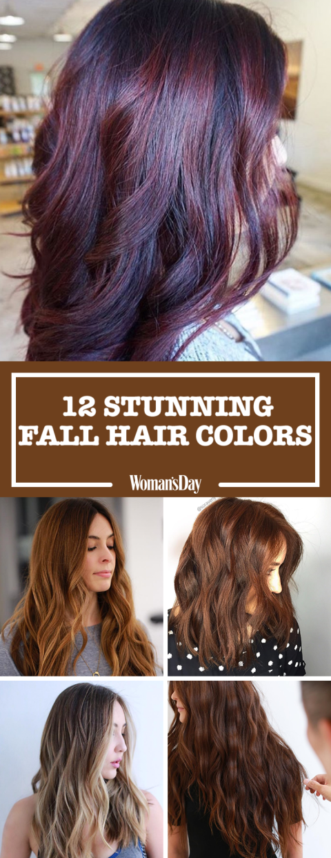 12 fall hair colors 2017 best hair dyes for autumn 1 pin this image save these stunning fall hair colors urmus Images