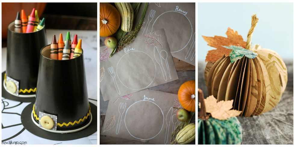 Fun Thanksgiving Crafts For Kids Part - 23: ... Thanksgiving Centerpiece Ideas. View Gallery. 30 Photos