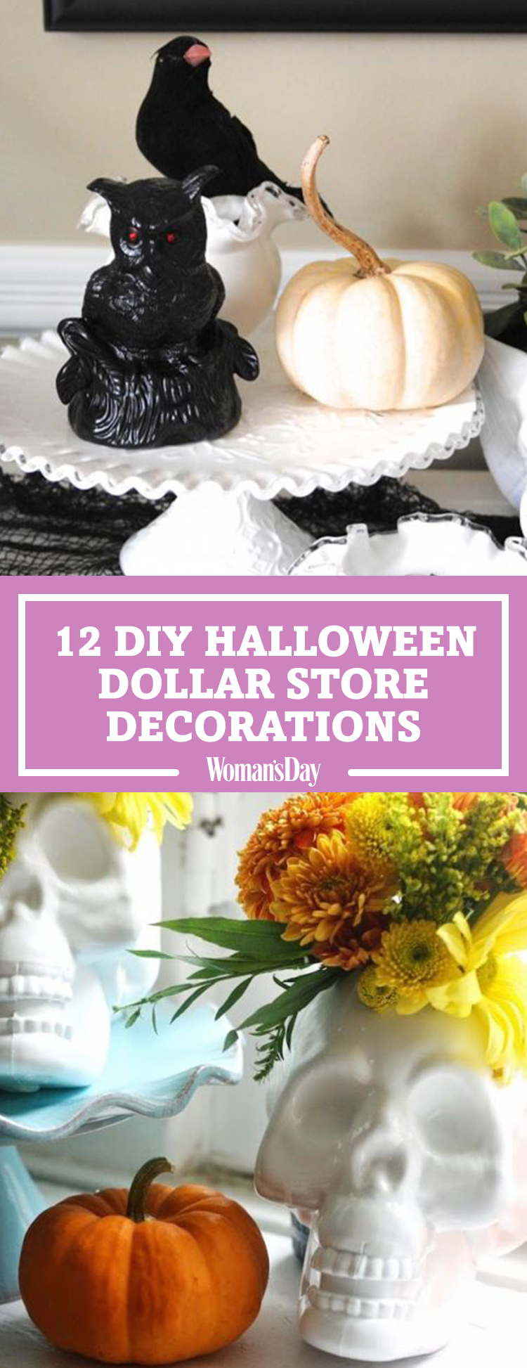 12 easy dollar store halloween decorations dollar store Halloween decoration diy cheap